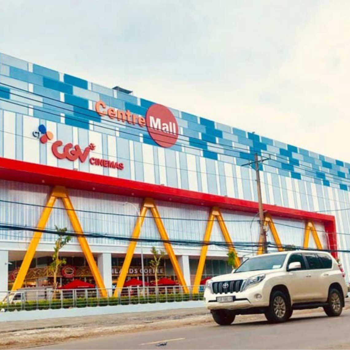 Vệ sinh trung tâm thương mại Centre Mall